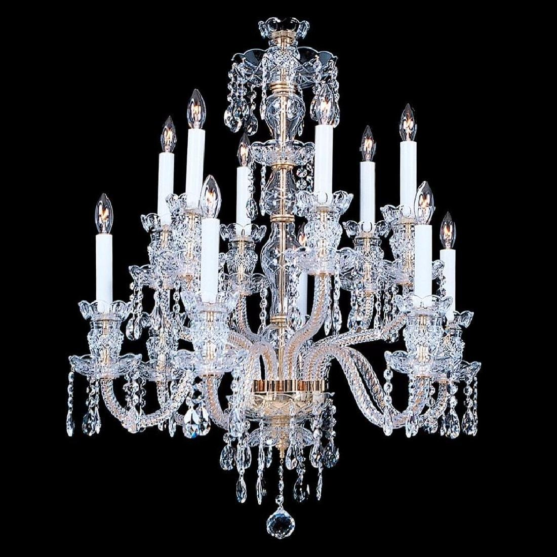 Durham - 12 Light Crystal Chandelier with Swarovski - - 2