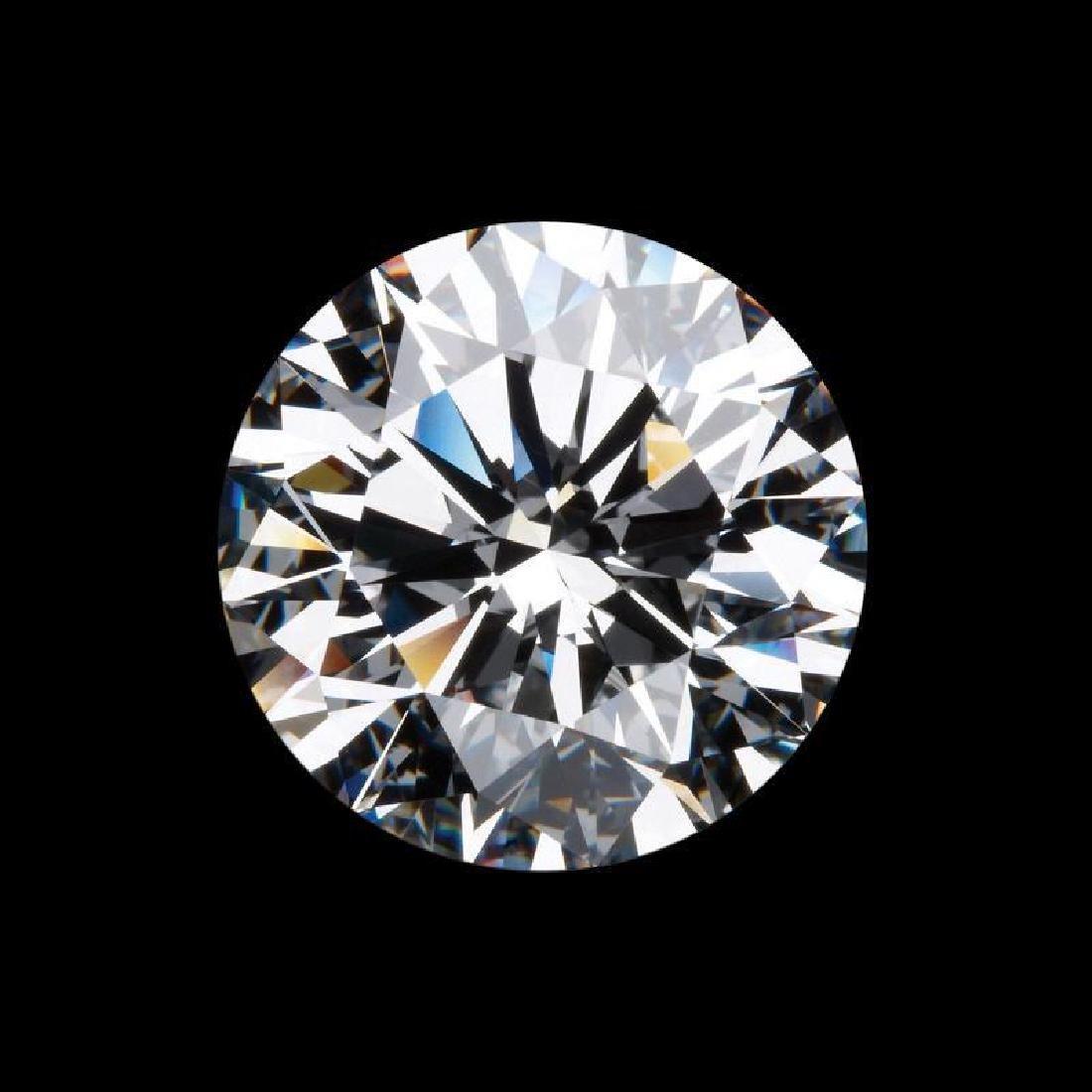 11ct Round Cut Bianco Diamond