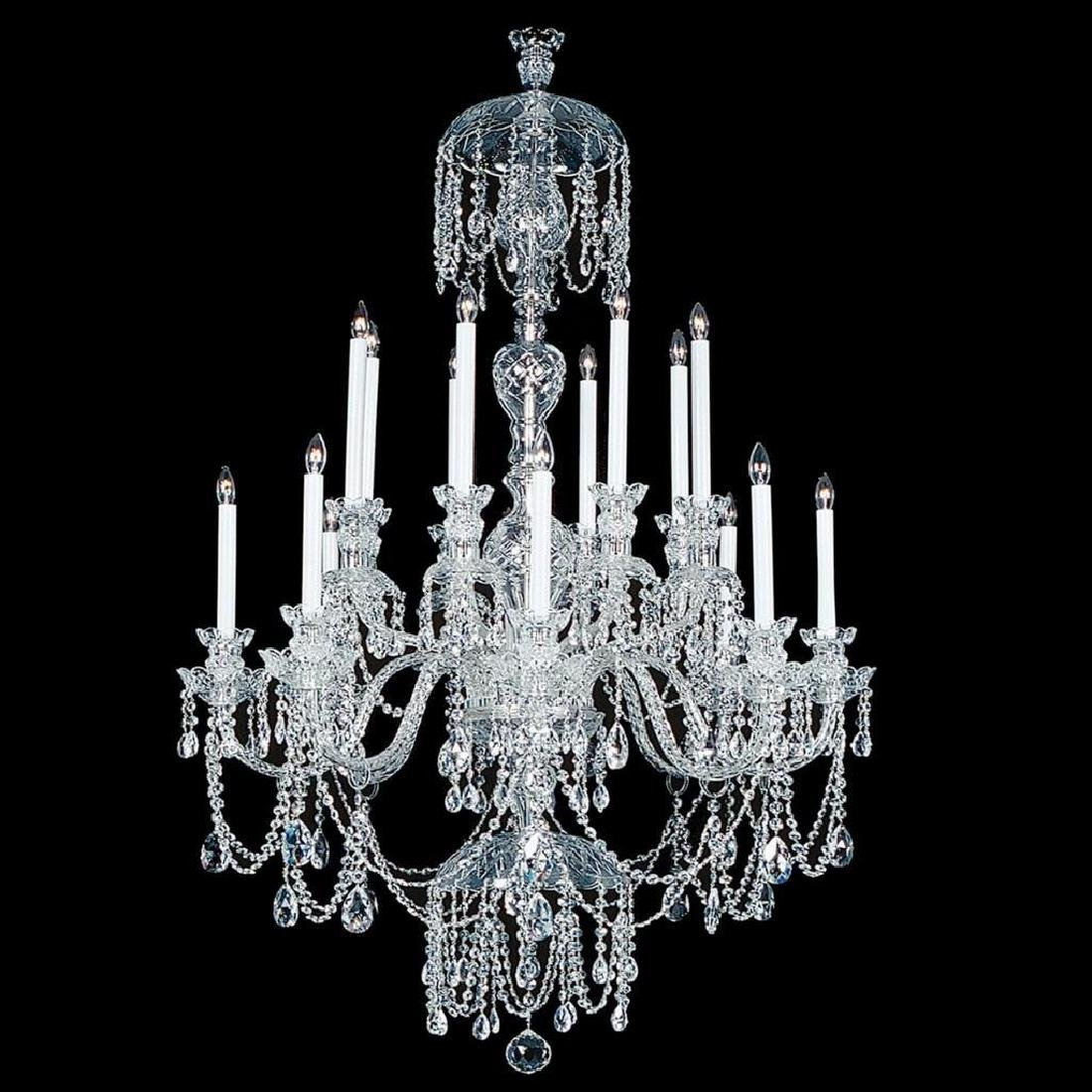 Winter Elegance - 16 Light Crystal Chandelier with - 2
