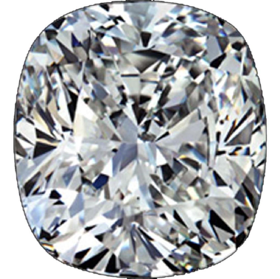 7 ct Cushion Cut BIANCO Diamond