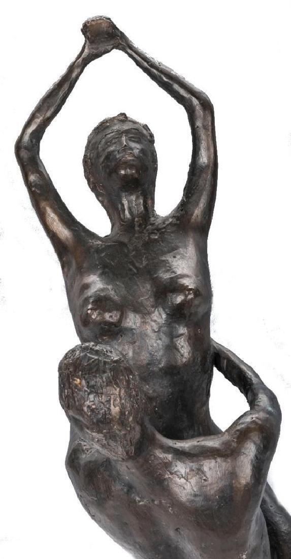 2 Nude Bronze Sculptures, A. Umlauf - 10