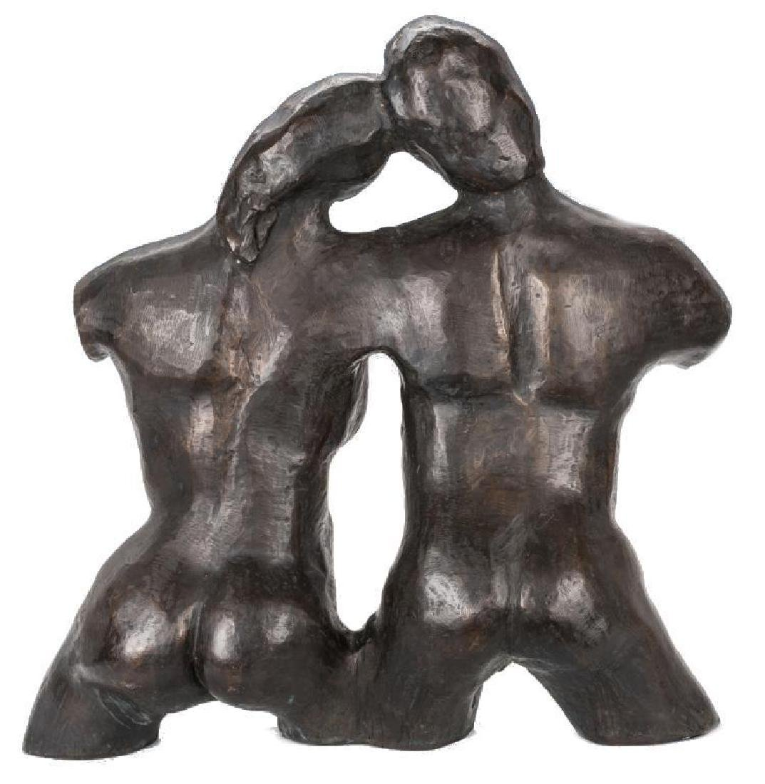 2 Nude Bronze Sculptures, A. Umlauf - 4