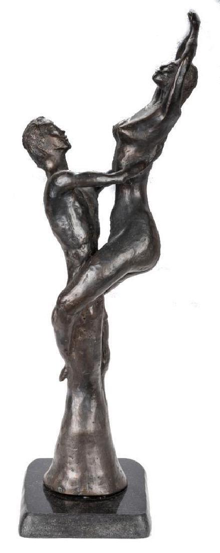 2 Nude Bronze Sculptures, A. Umlauf - 7