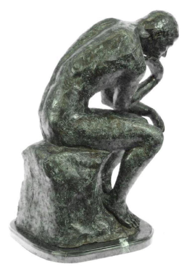Massive Extra Large Rodin Thinker Famous Work Artwork - 4