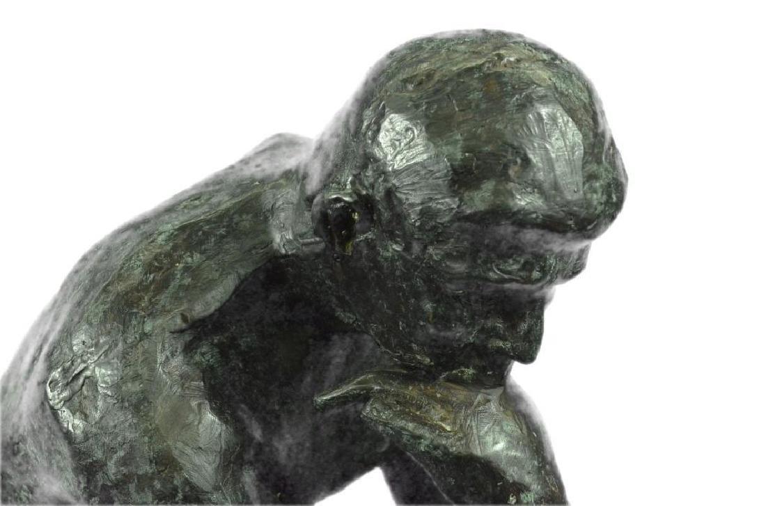 Massive Extra Large Rodin Thinker Famous Work Artwork - 5