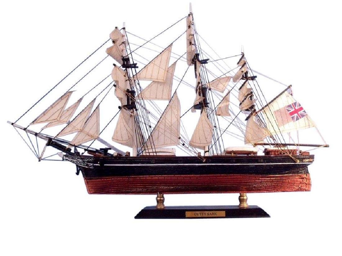 Cutty Sark Limited Tall Model Clipper Ship 15''