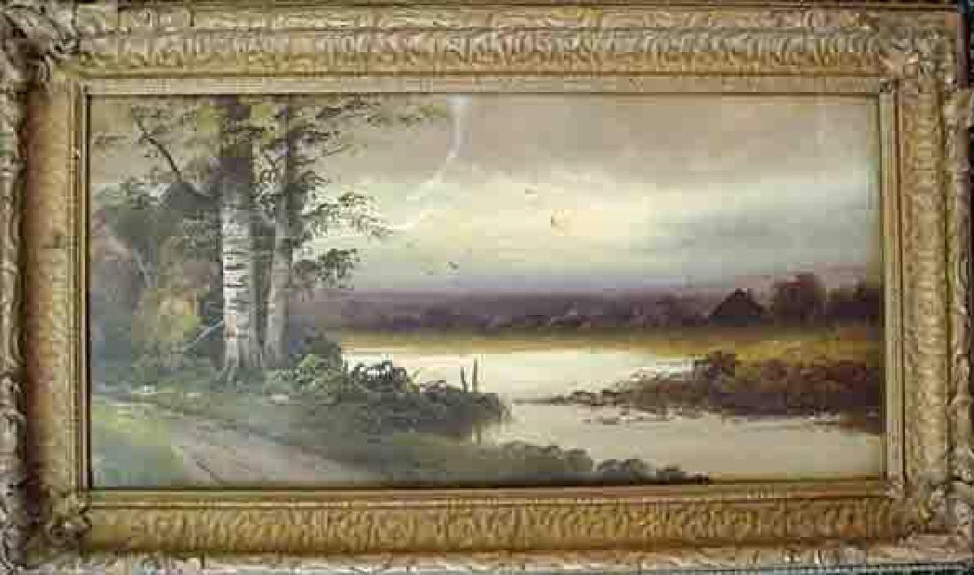 19thc American Landscape Painting