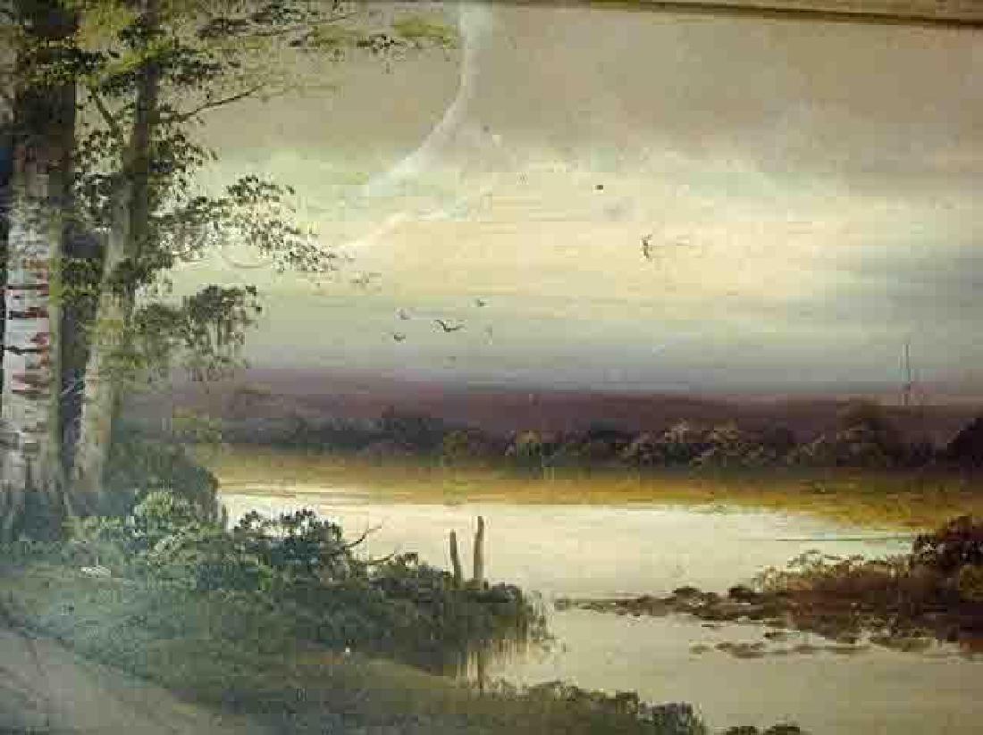19thc American Landscape Painting - 2