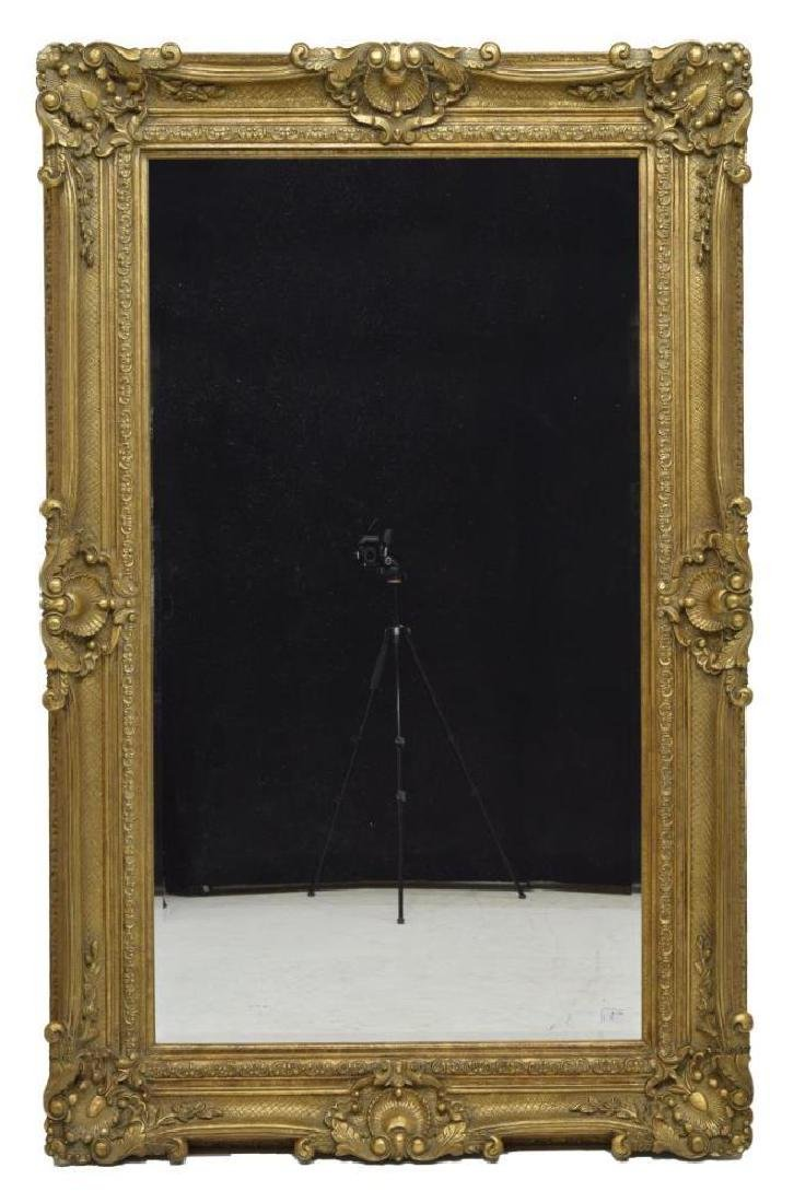 Monumental Victorian Style Gilt Frame Mirror - 2