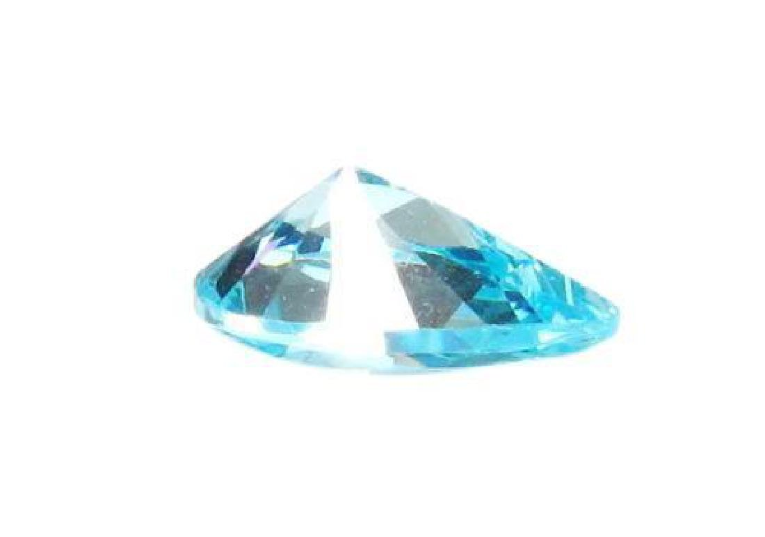 "Amazing & Rare 11ctw Matching - Blue ""Pear Cut"" BIANCO - 3"