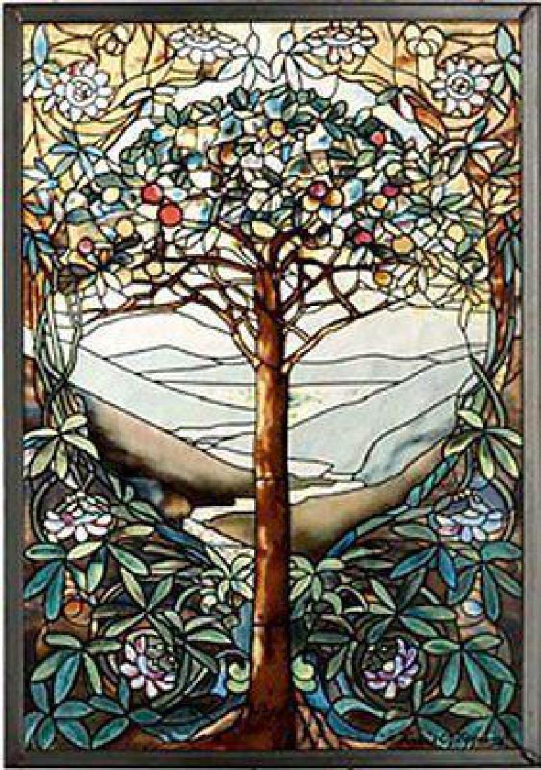 MI Hummel/Glassmasters 9-1/4 by 13-1/4-Inch Tree of