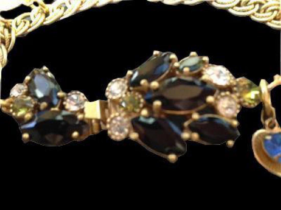 Vintage Multi Charm Bermuda Art Bracelet - 2