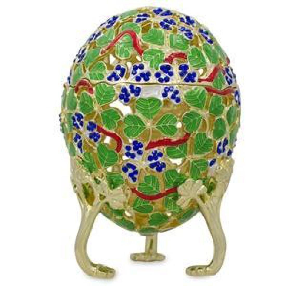 1902 Clover Leaf Faberge Egg