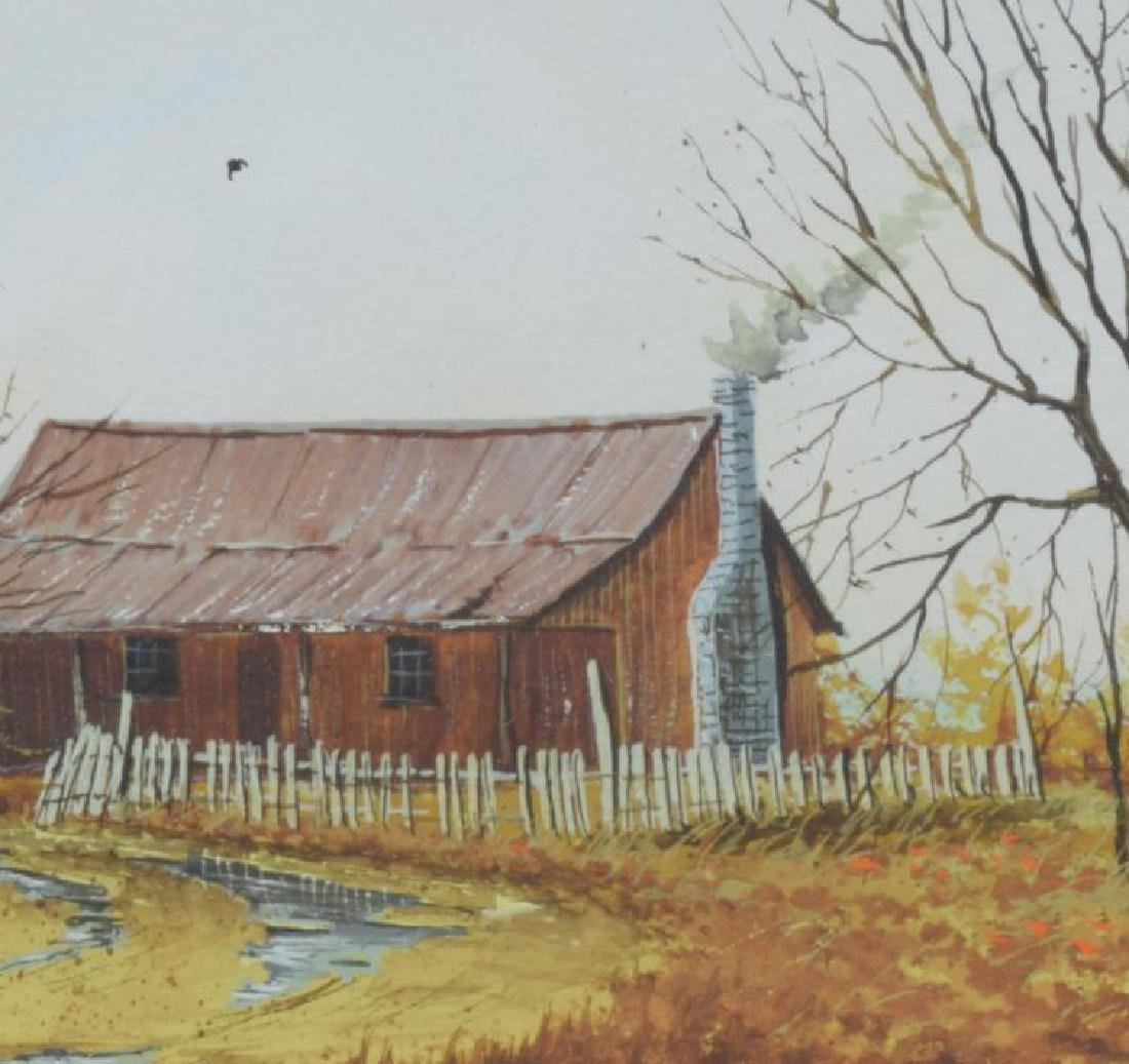 Daniel Maldonado (Texas) Framed Watercolor Painting - 3