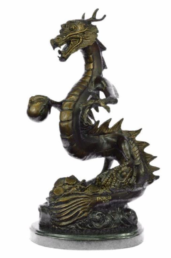 Original Limited Edition Signed Dragon by Thomas Bronze