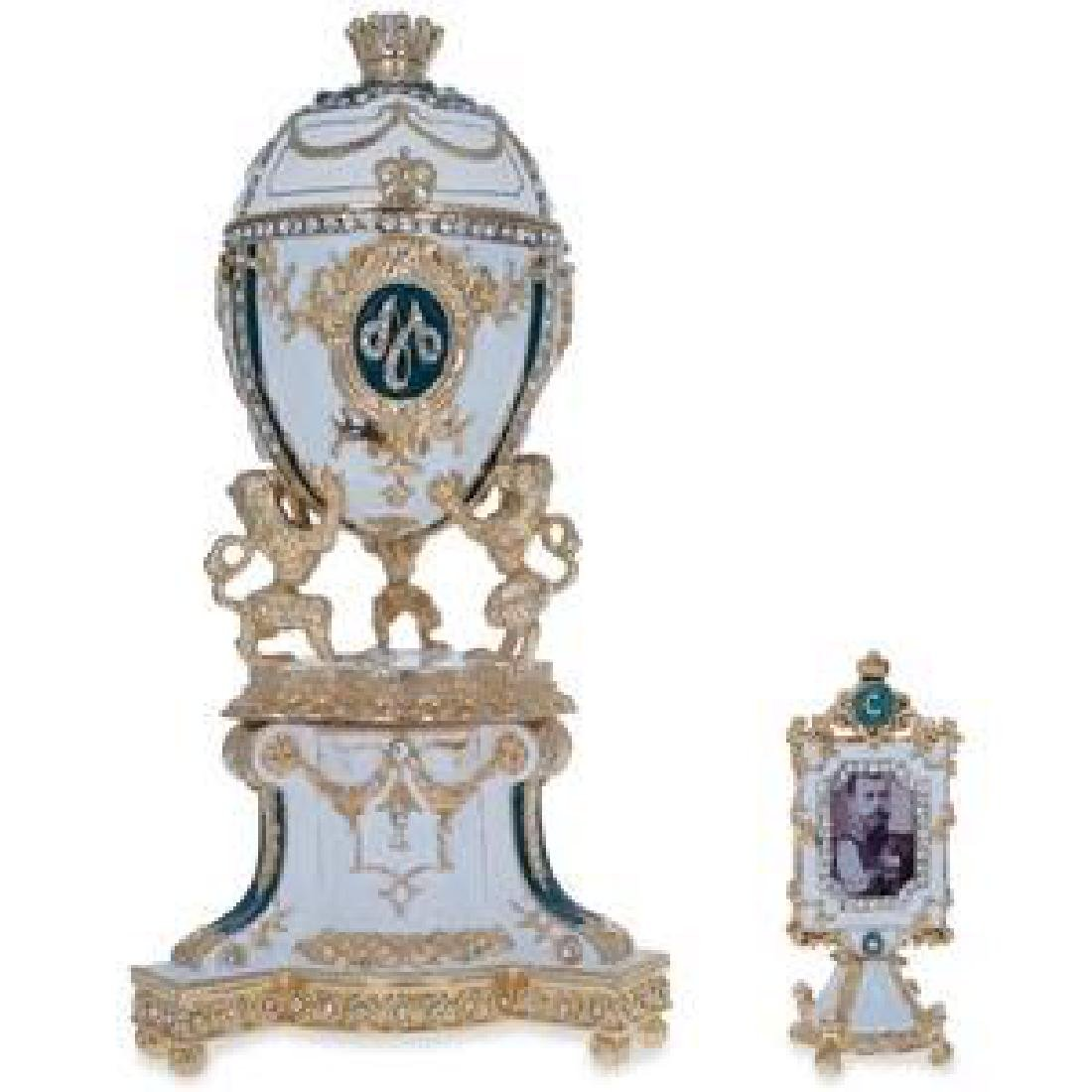 1888 Royal Danish Faberge Egg