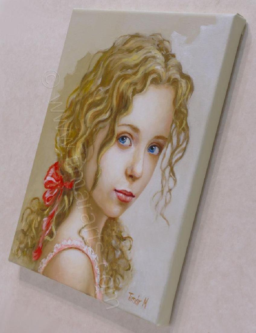 """Fabulour Monika TimarOriginal OIL PAINTING - """"Eva"""" - - 3"""