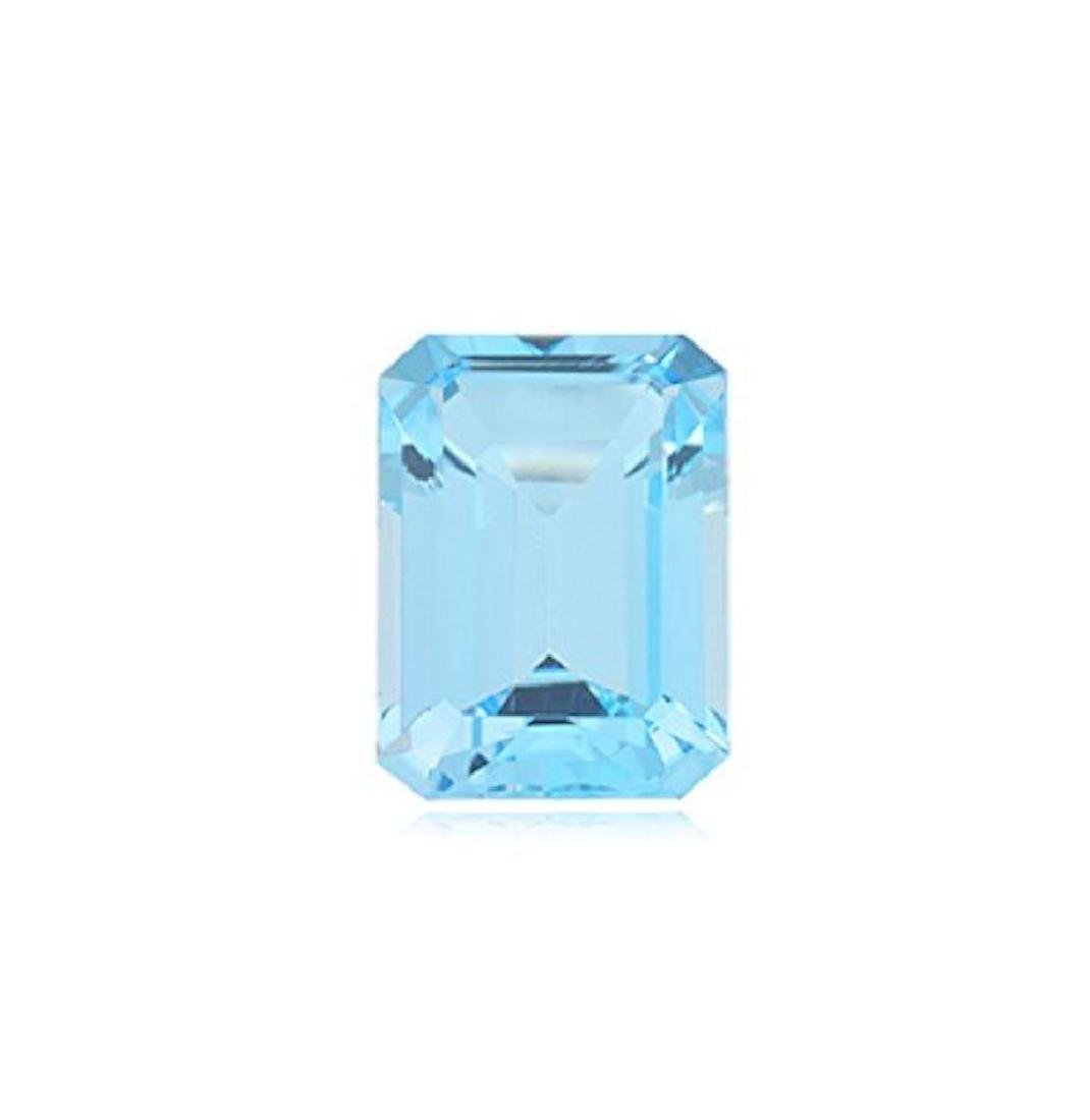 5.41cts - Natural Sky Blue Topaz AAA Octagon  - Loose