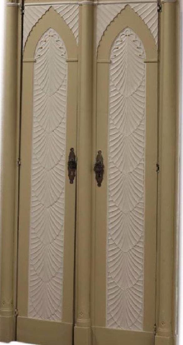 (2) Italian Gothic Revival Architectural Doors - 3