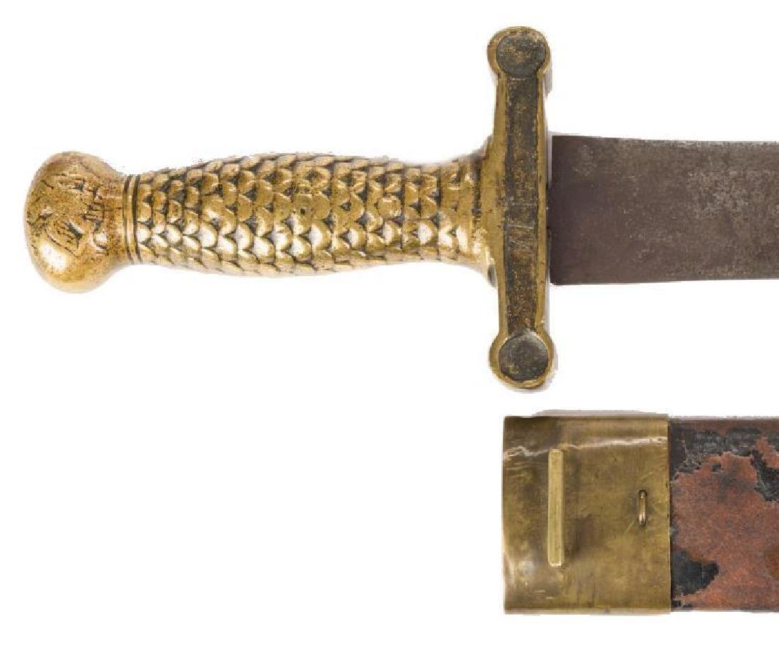 Artillery Short Sword & Scabbard, Poss. Confederate - 7