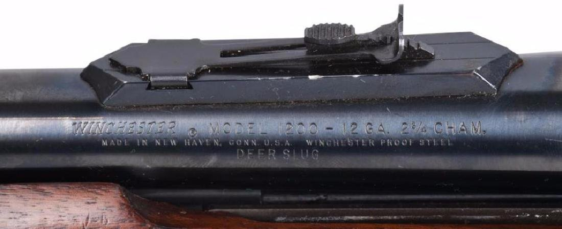 Winchester Model 1200 12 Ga Pump Shotgun - 9