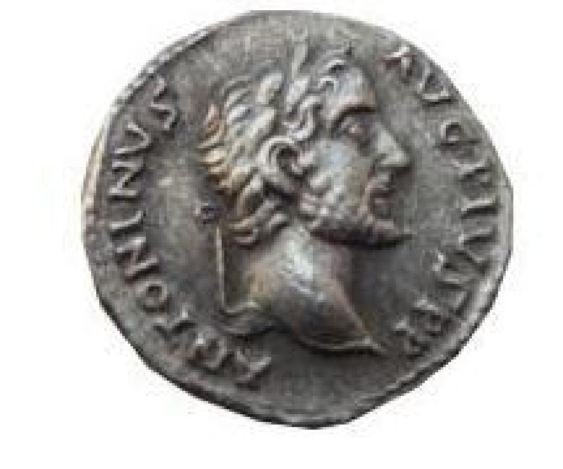 REPRO Ancient Rome Coin - Phantasy Denarius a. PIUS -
