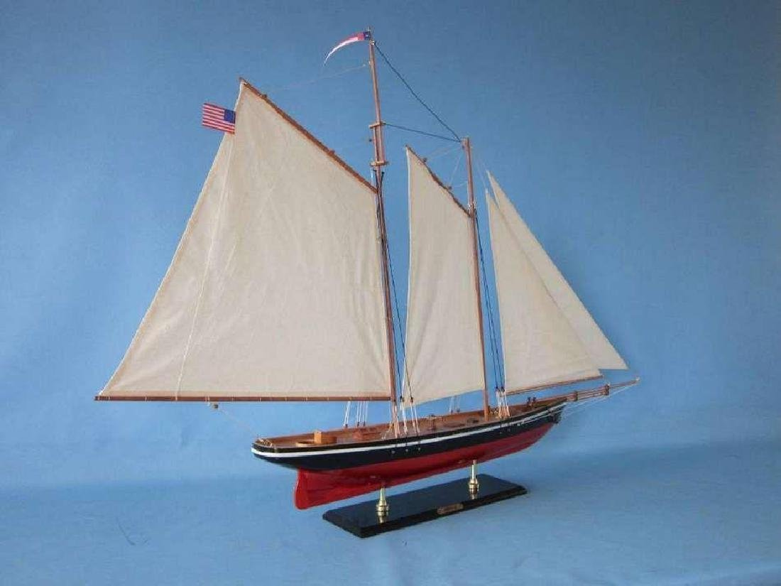 """50"""" Limited Edition """"America"""" Model Sailboat - 3"""