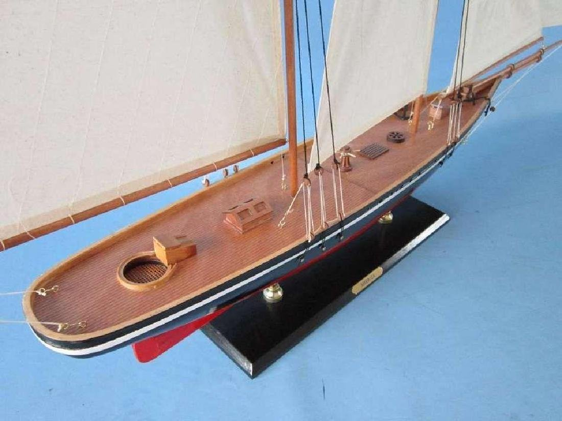 """50"""" Limited Edition """"America"""" Model Sailboat - 4"""