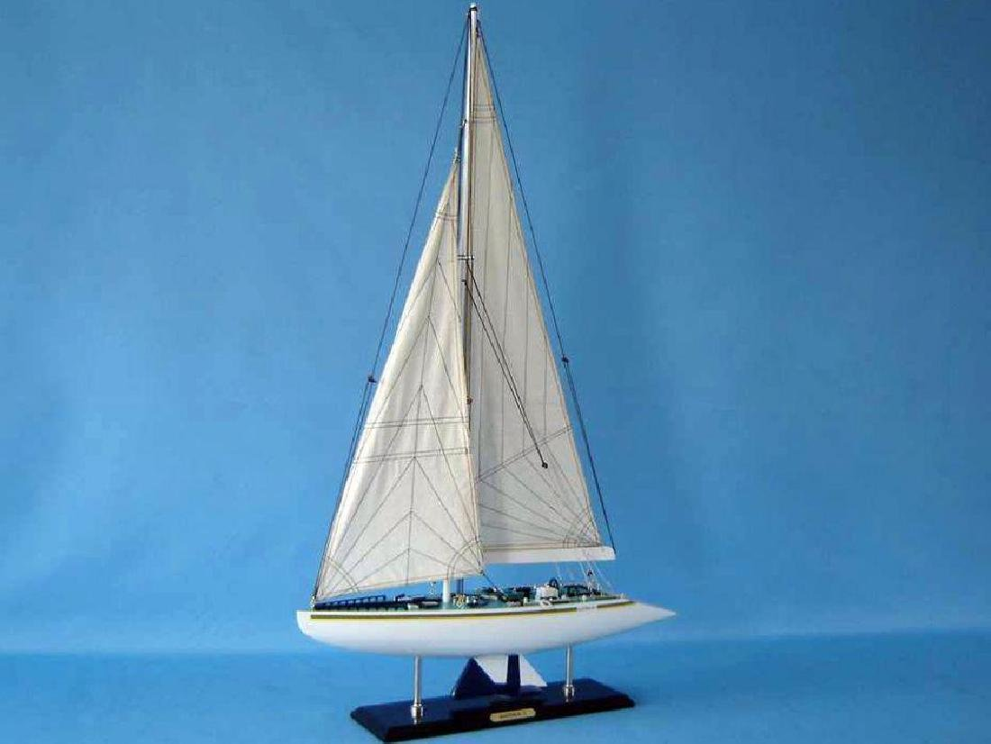 "Wooden Australia 2 Limited Model Yacht 40"" - 5"
