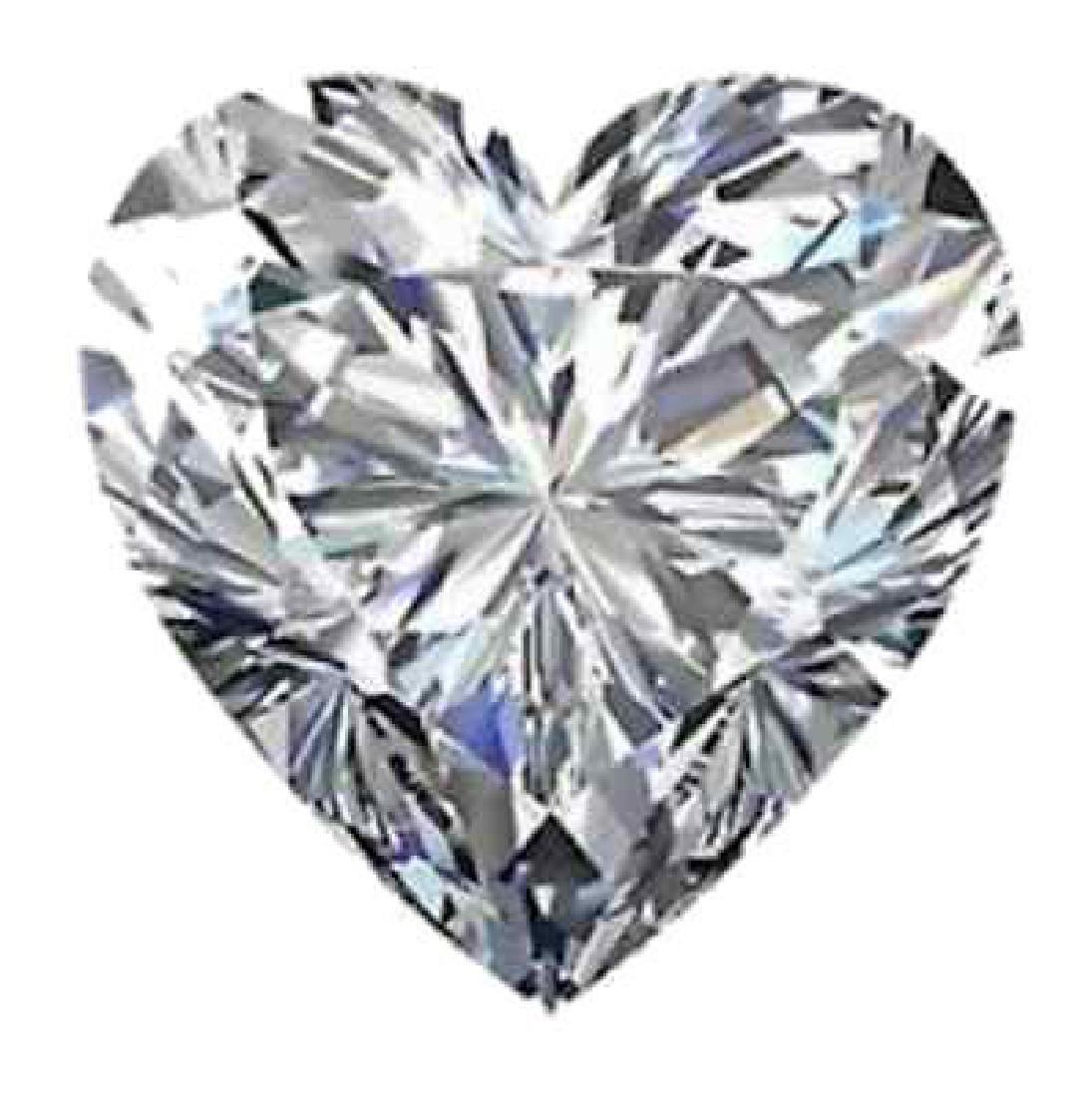 3.16cts - Bianco Diamond Heart Shaped Grade 6AAAAAA -