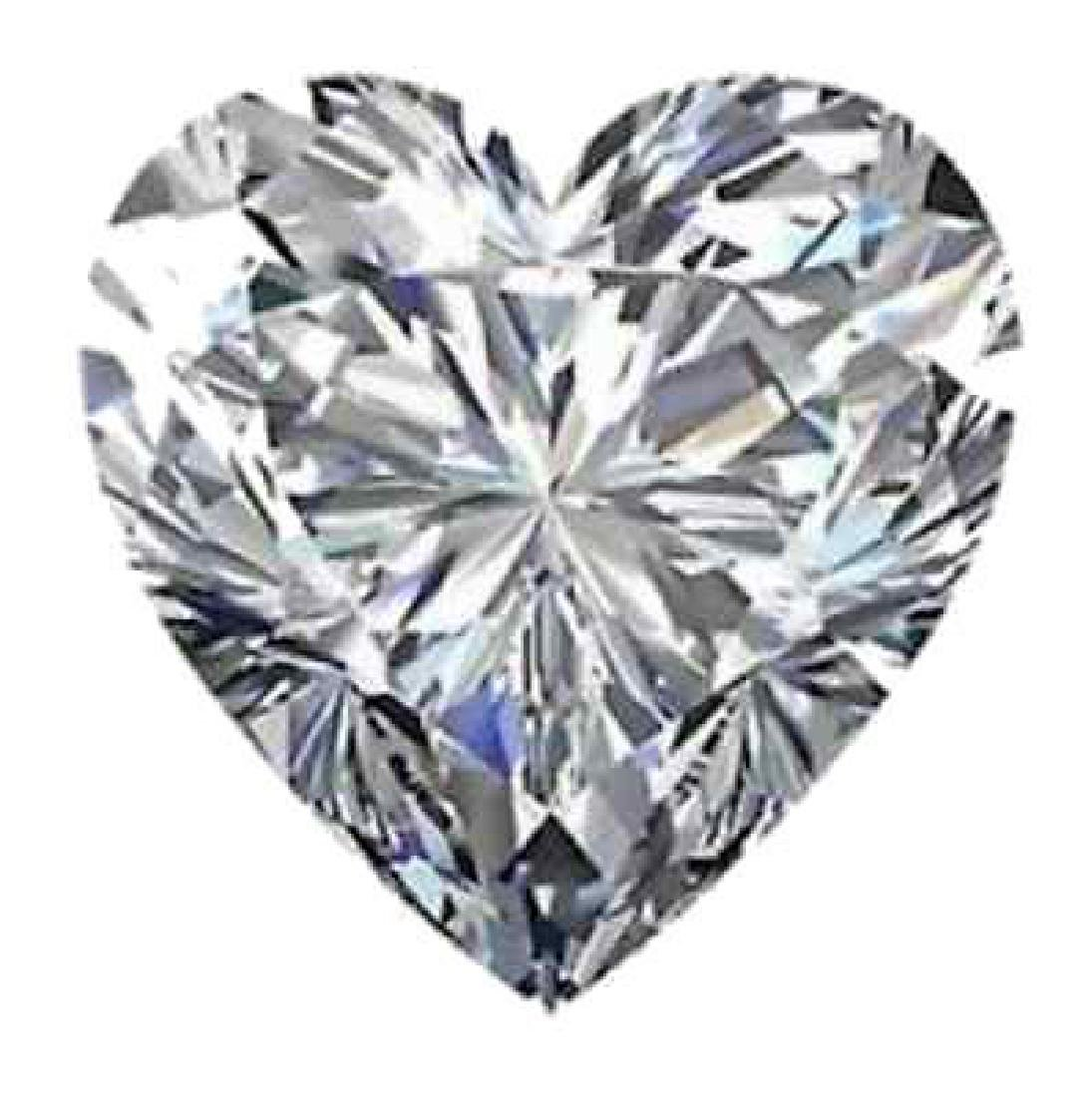 3.16cts - Bianco Diamond Heart Shaped Grade 6AAAAAA -