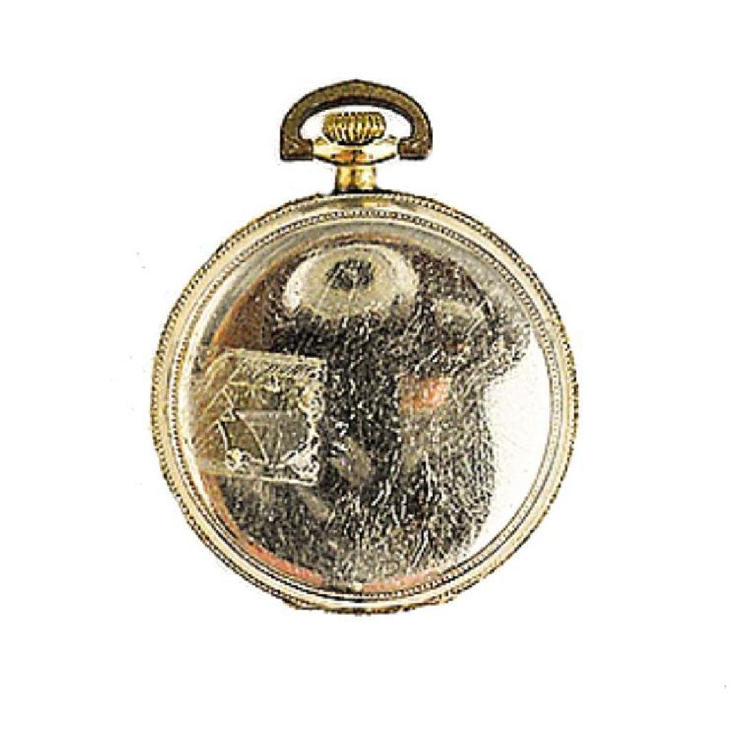 1905 Longines 17 Jewels Gold Filled Pocket Watch - 3