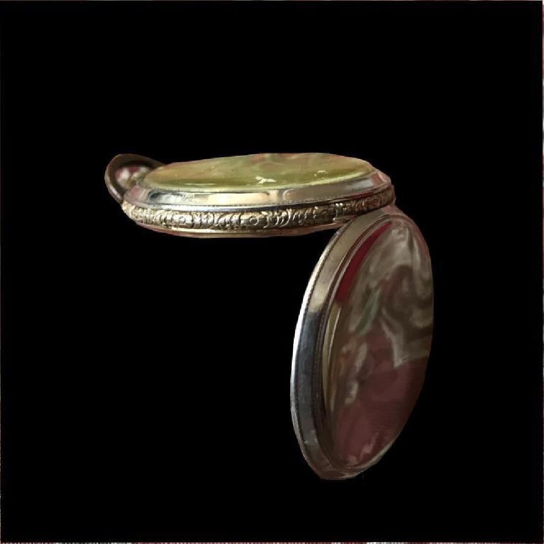 1905 Longines 17 Jewels Gold Filled Pocket Watch - 7