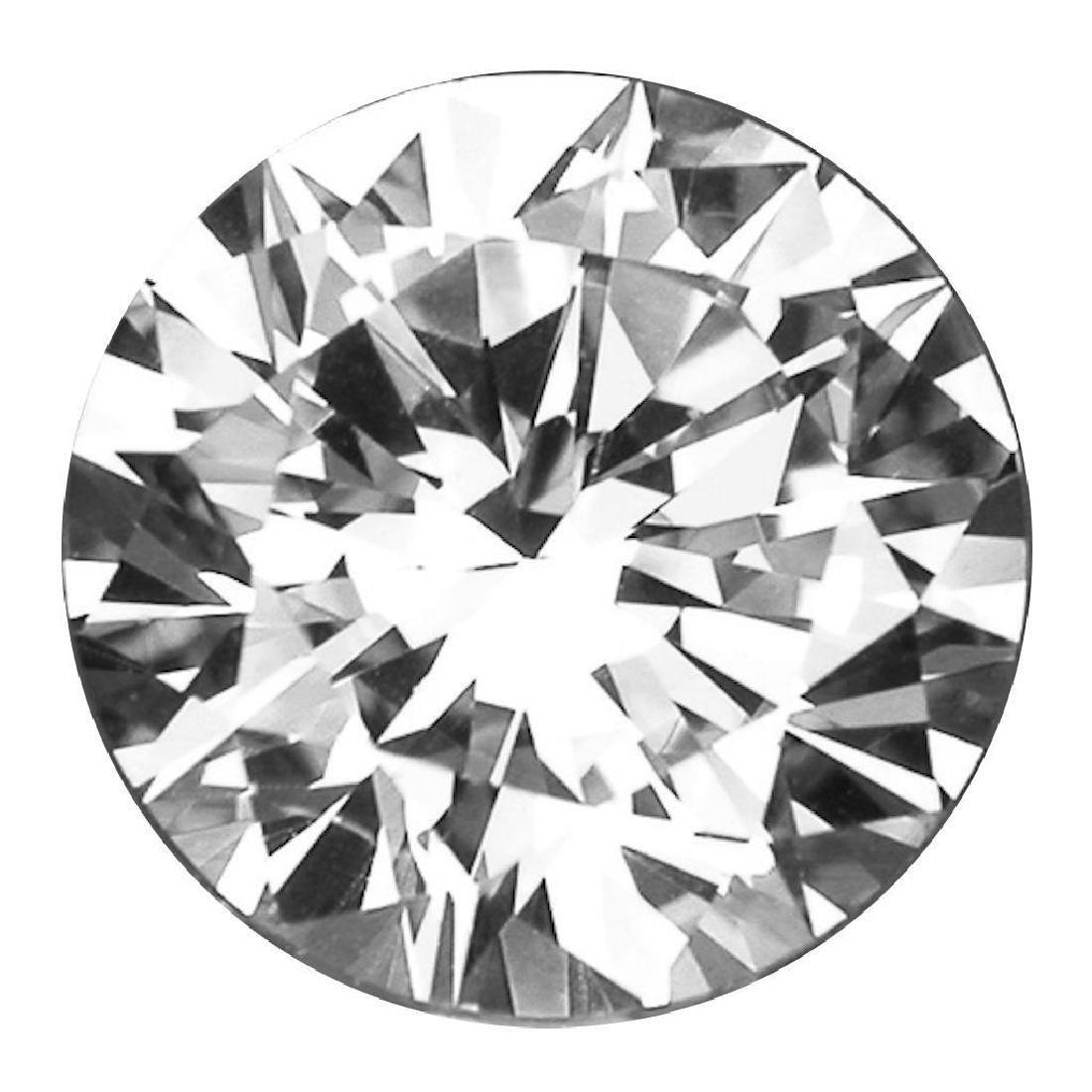 3.87cts Bianco Diamond Grade 6AAAAAA - Loose Stone - 2