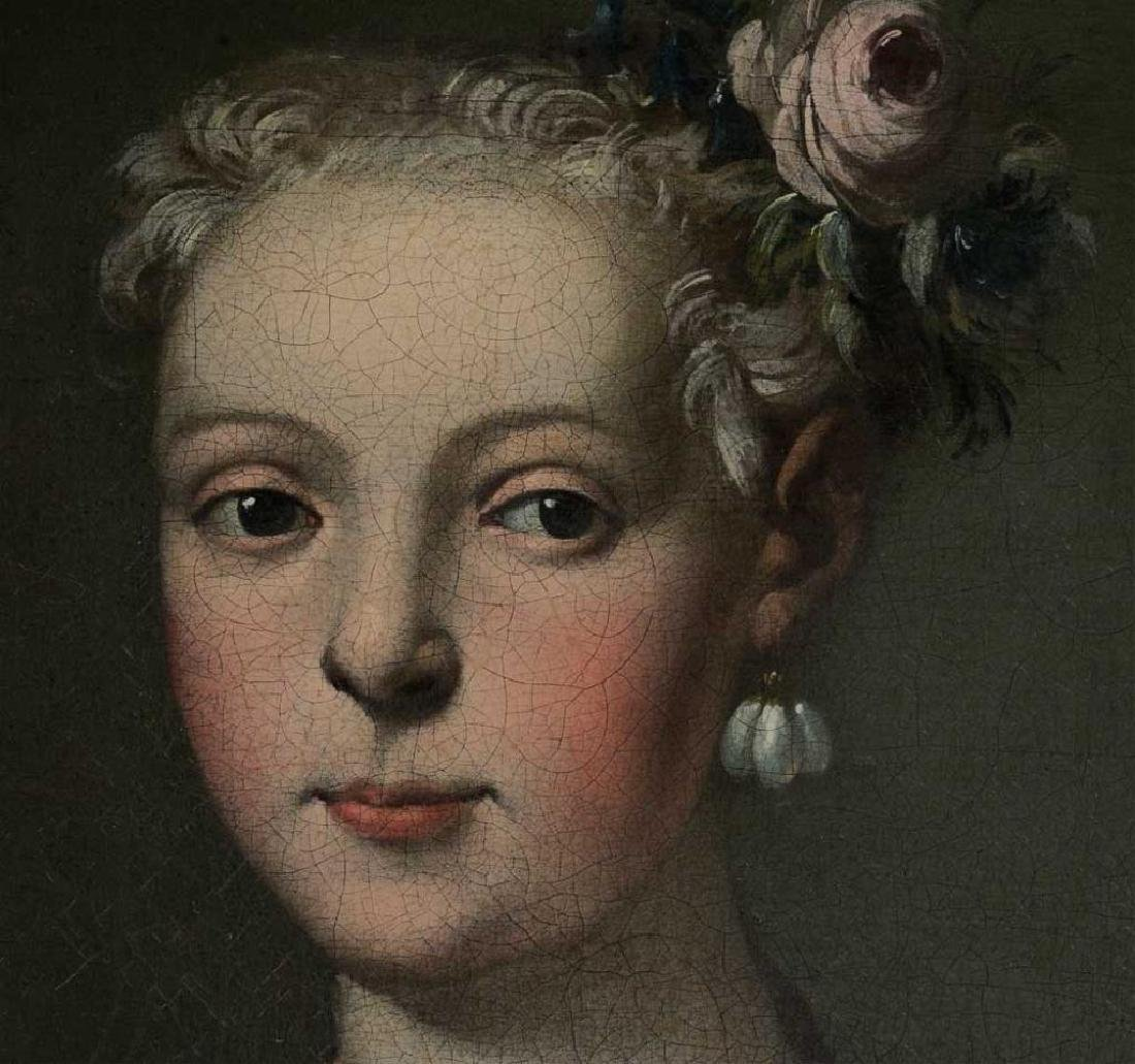 18thc Untitled Portrait of a Young Lady - 2