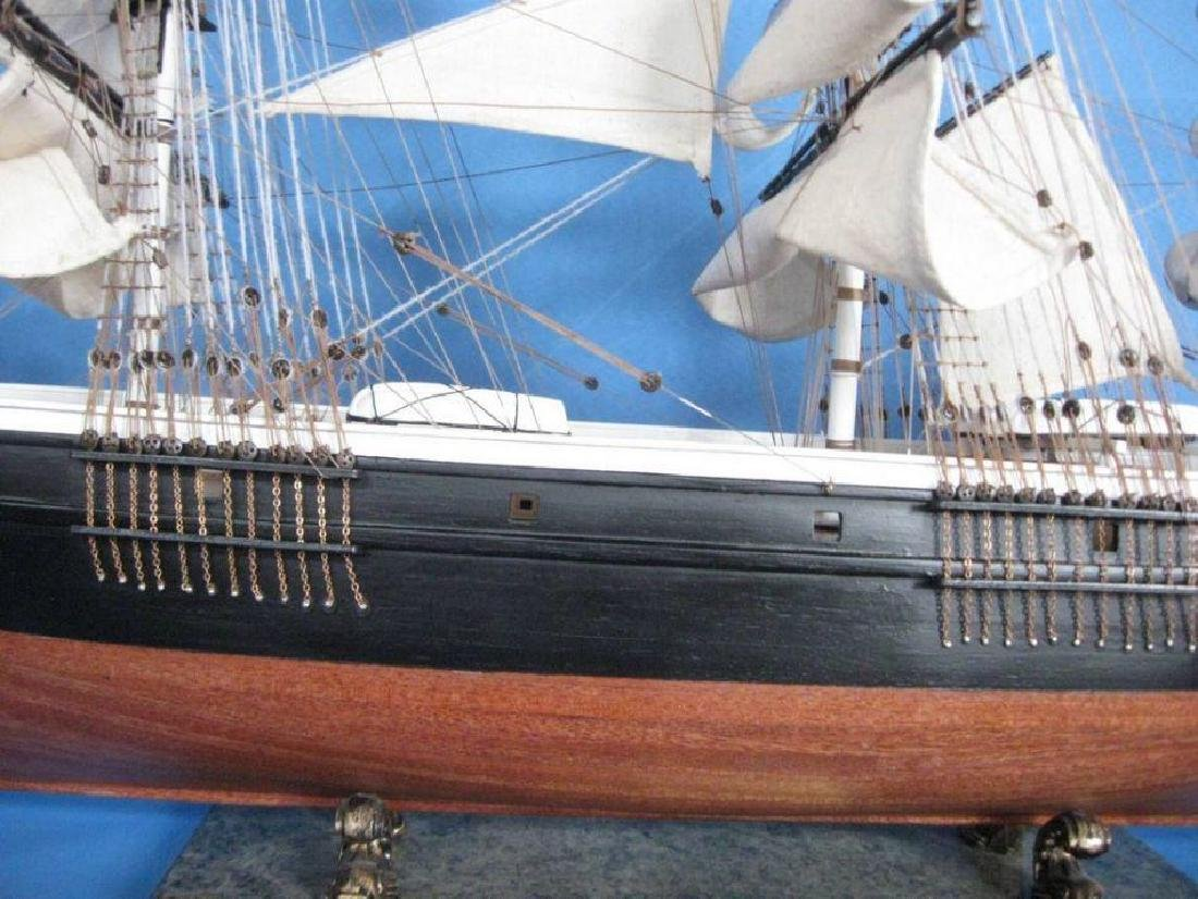 """Flying Cloud 50"""" Tall Model Ship Limited - 7"""