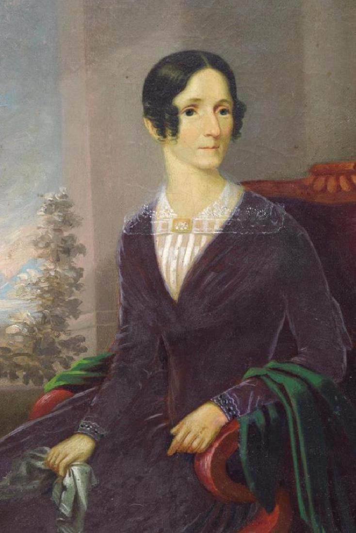 American School Portrait, Lady In Red Chair - 3