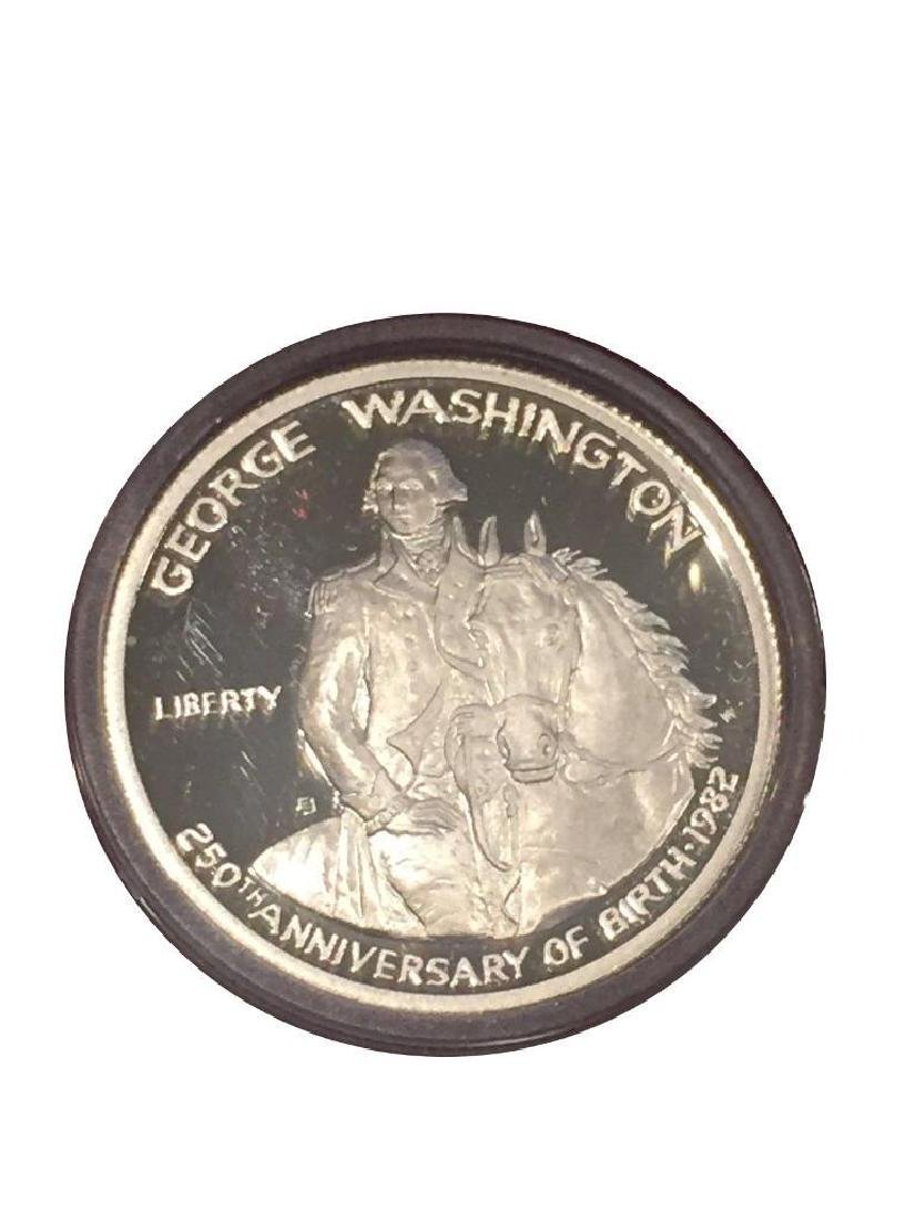 1986 George Washington Half Dollar 90% Silver