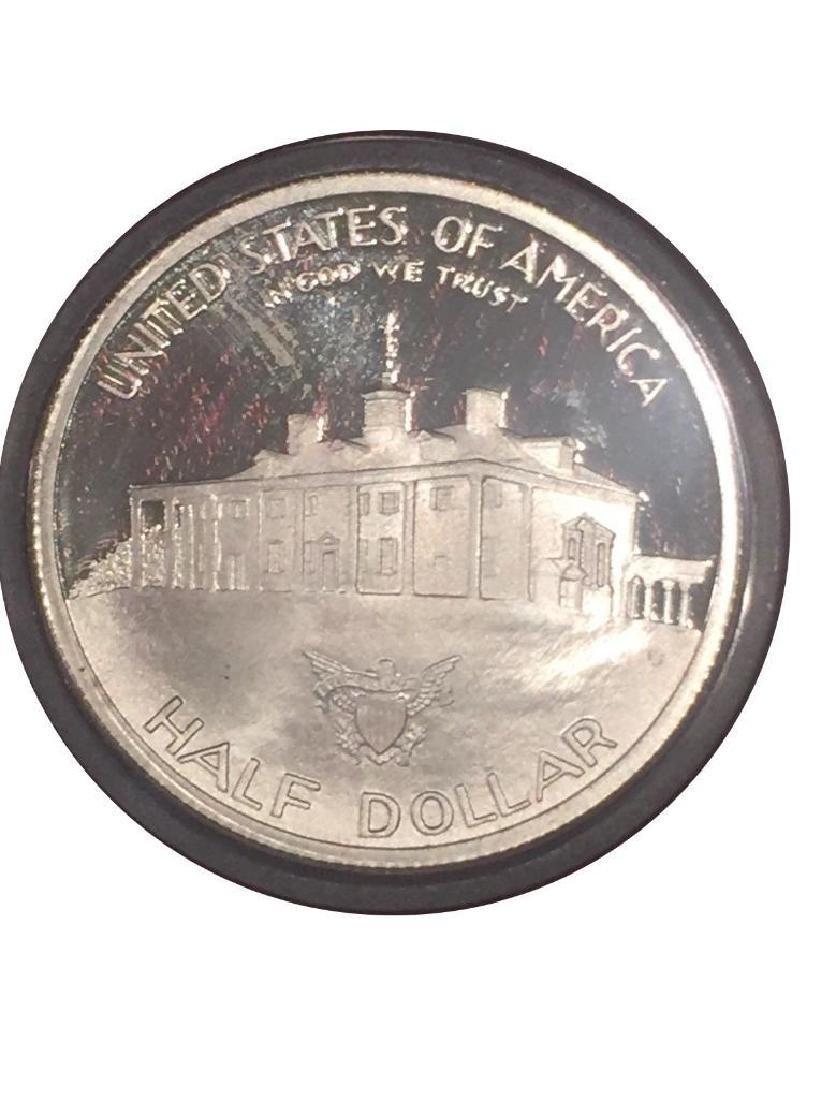 1986 George Washington Half Dollar 90% Silver - 2