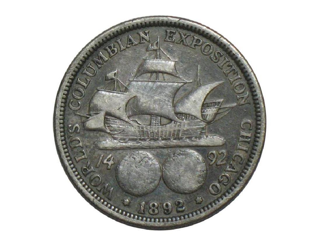 1892 Columbian Exposition Half Dollar - Commemorative