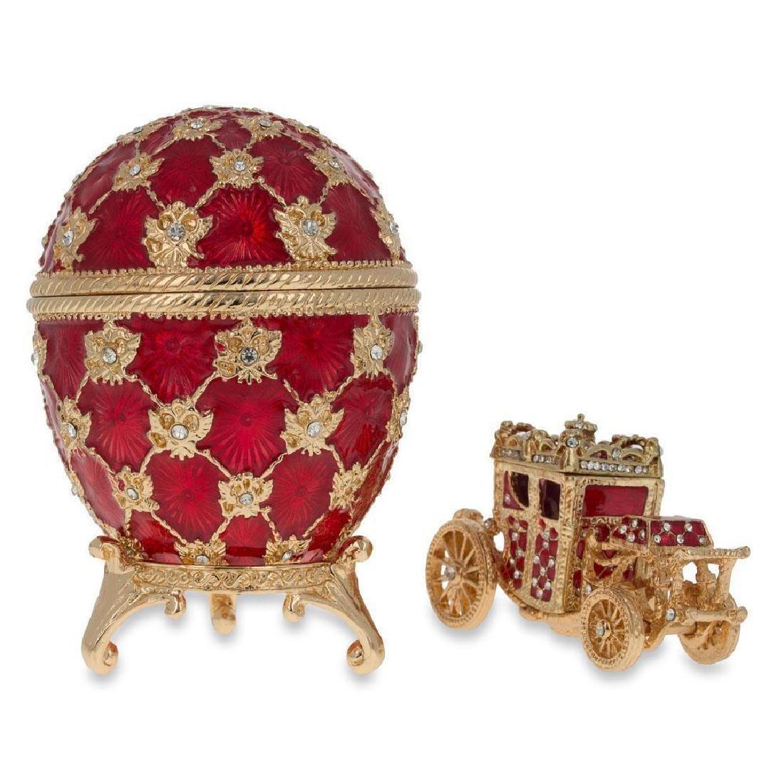 """1897 Coronation Faberge Egg 3.8"""""""