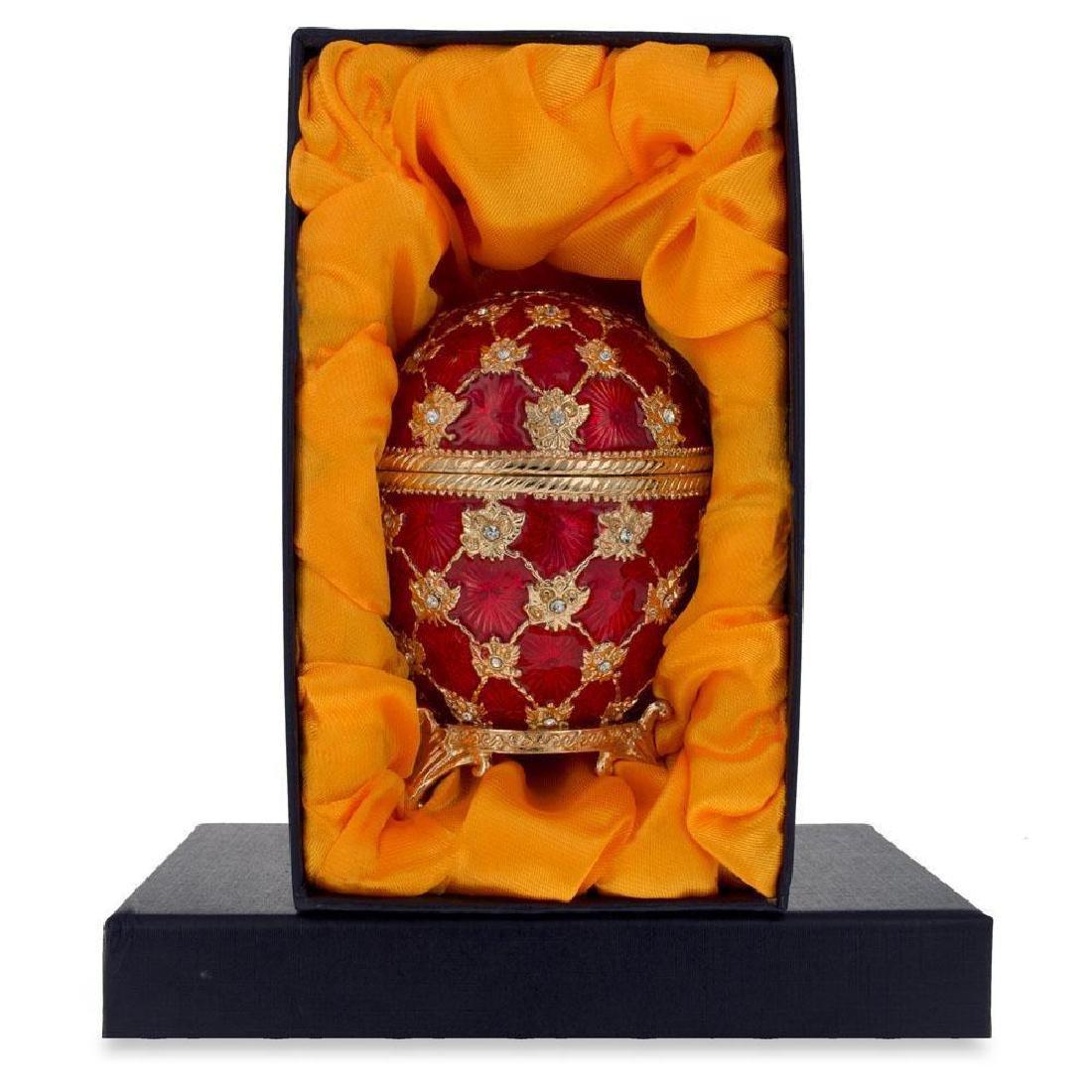 """1897 Coronation Faberge Egg 3.8"""" - 4"""