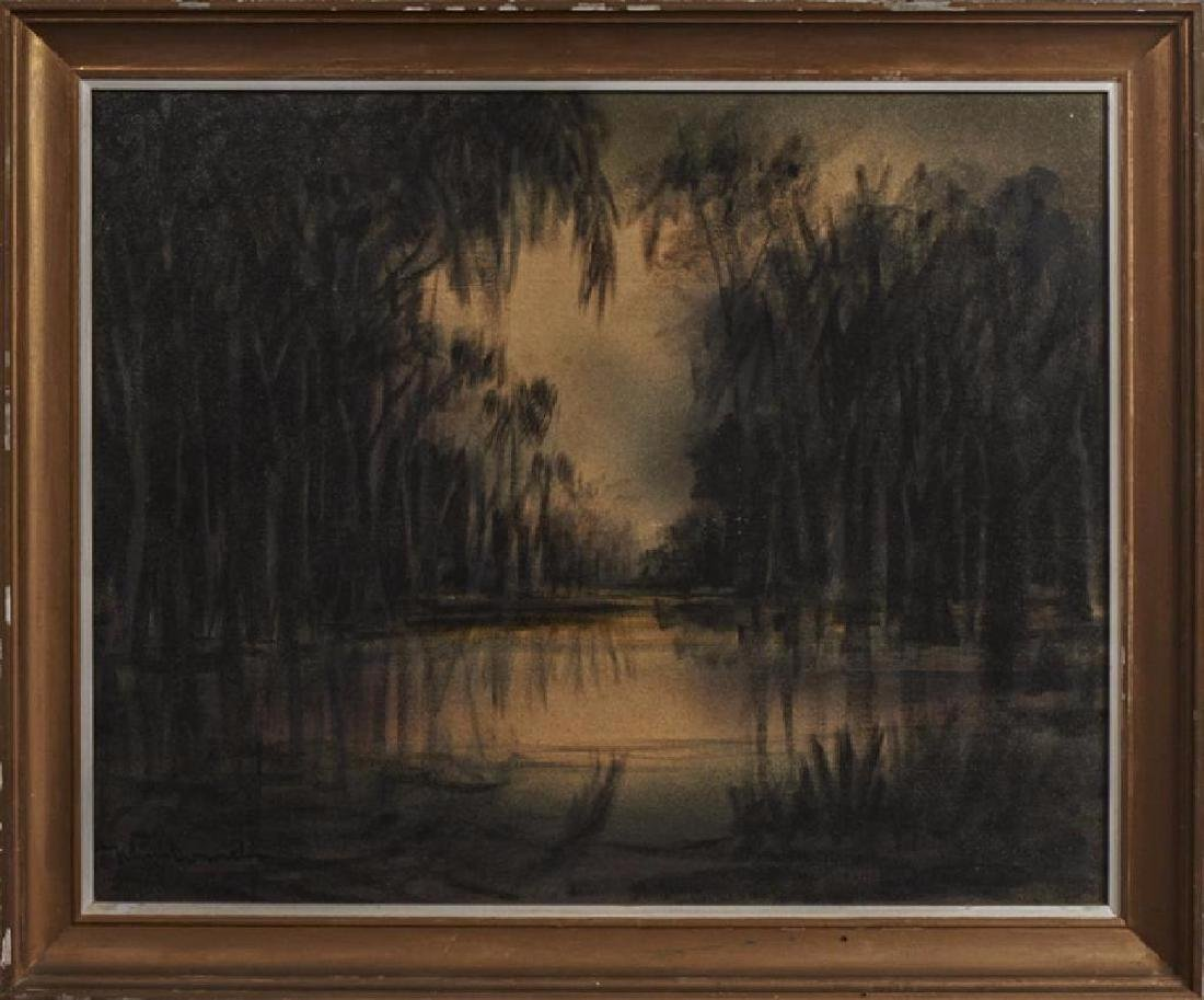 """Johnny Donnels (1924-2009, New Orleans), """"Twilight"""""""