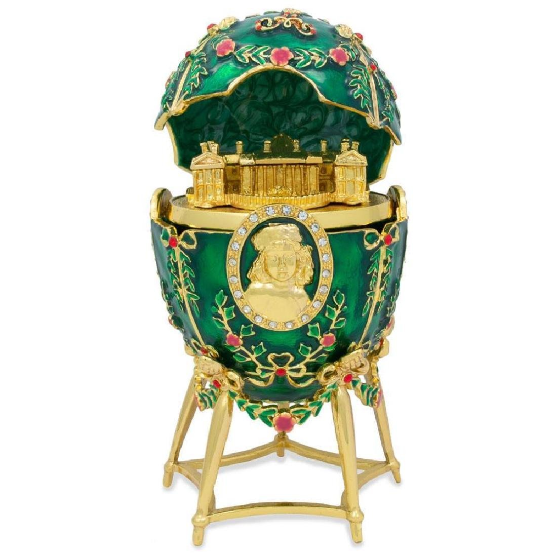 Faberge Inspired 1908 Alexander Palace Faberge Egg