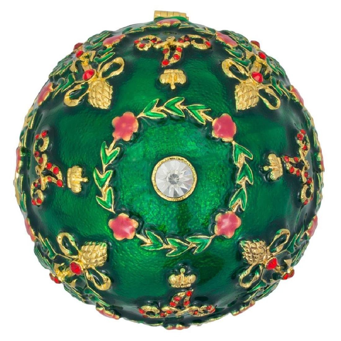 Faberge Inspired 1908 Alexander Palace Faberge Egg - 6
