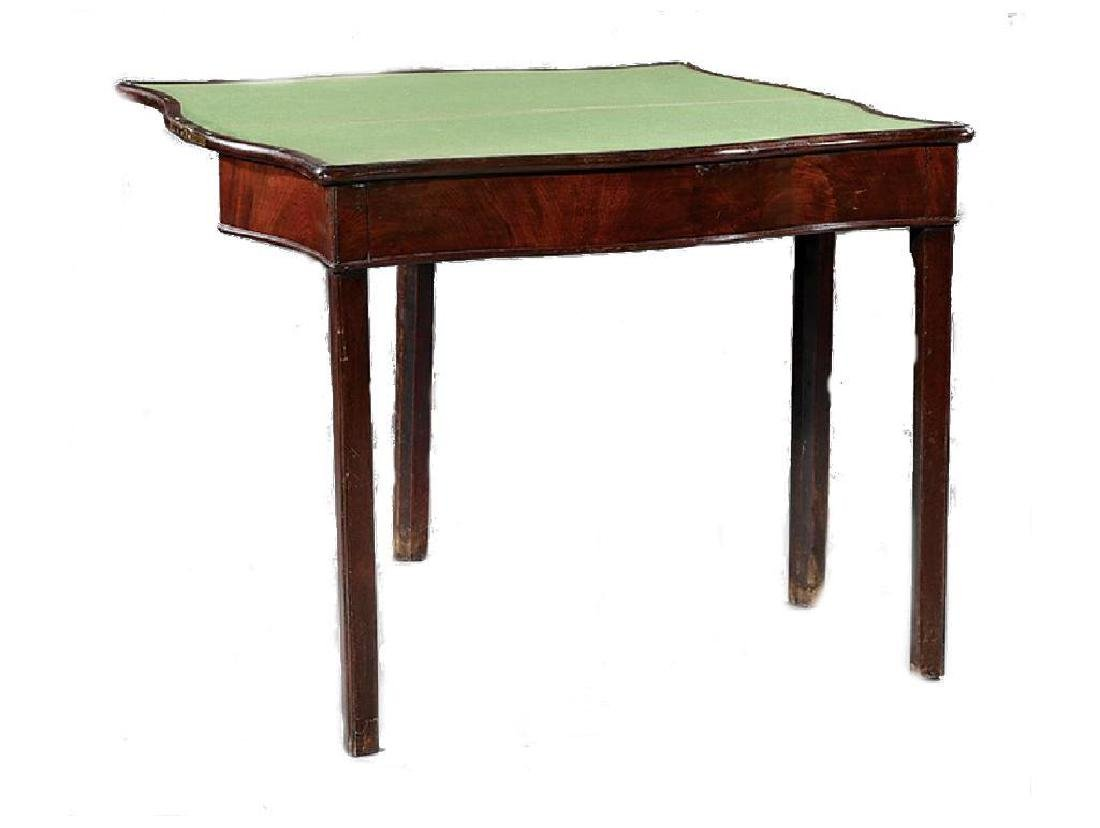 American Federal Mahogany Games Table - 3