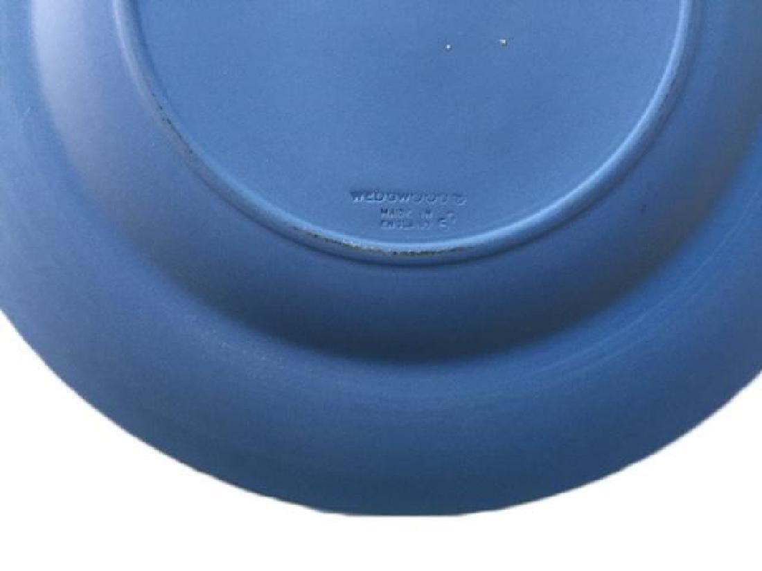 Wedgewood Blue Jasperware Queen Victoria Plate - 2