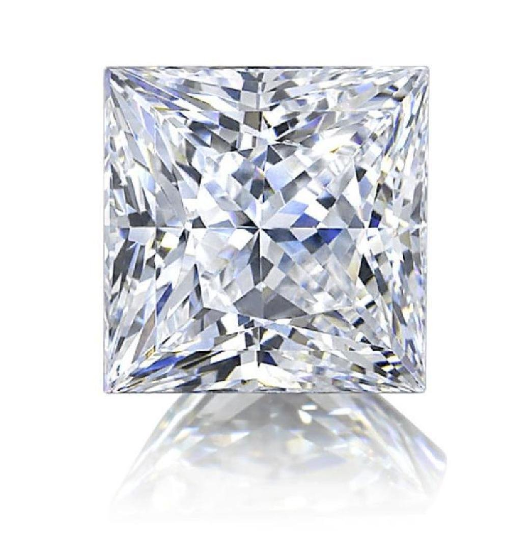 7 ct Princess Cut BIANCO Diamond
