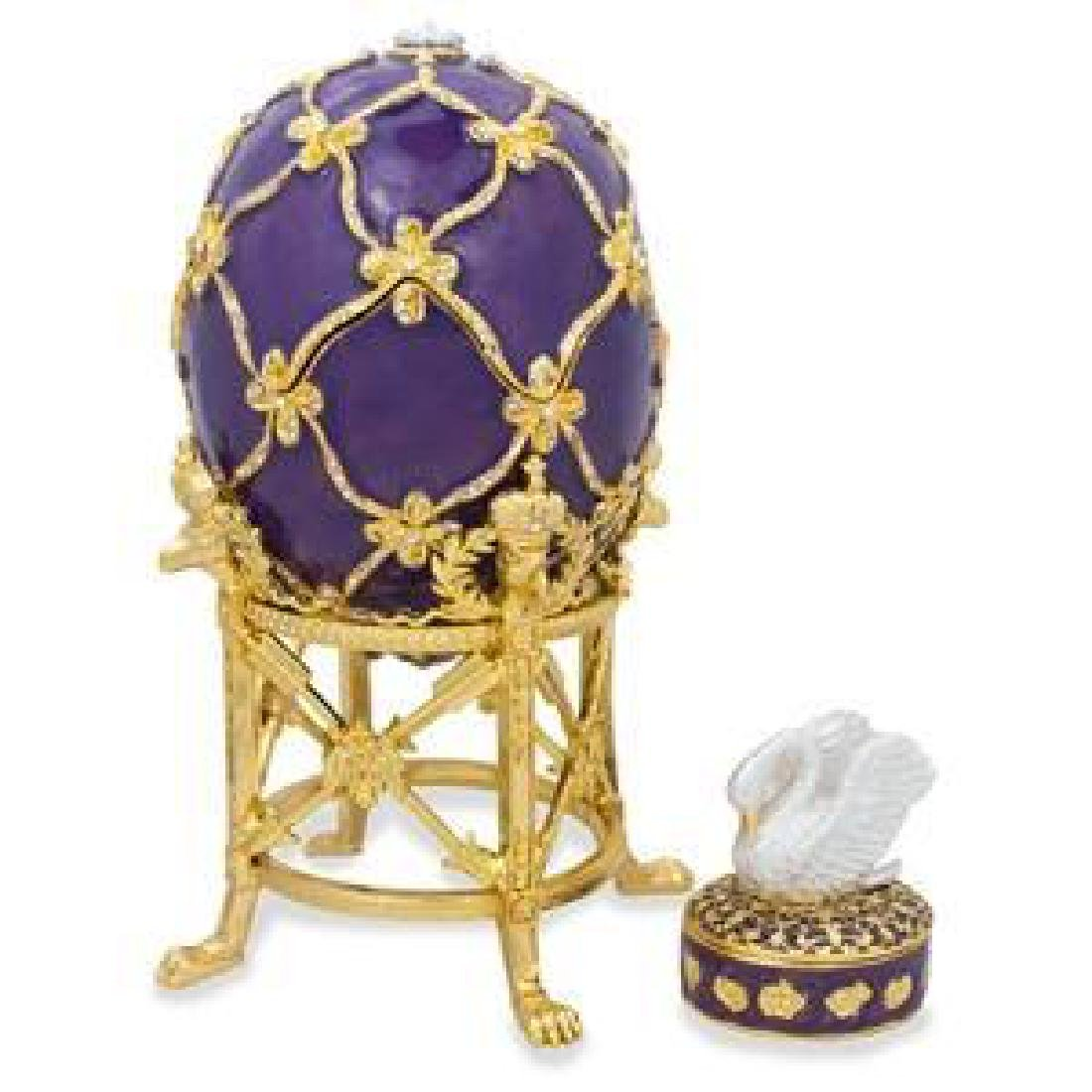 1906 The Swan Faberge Egg