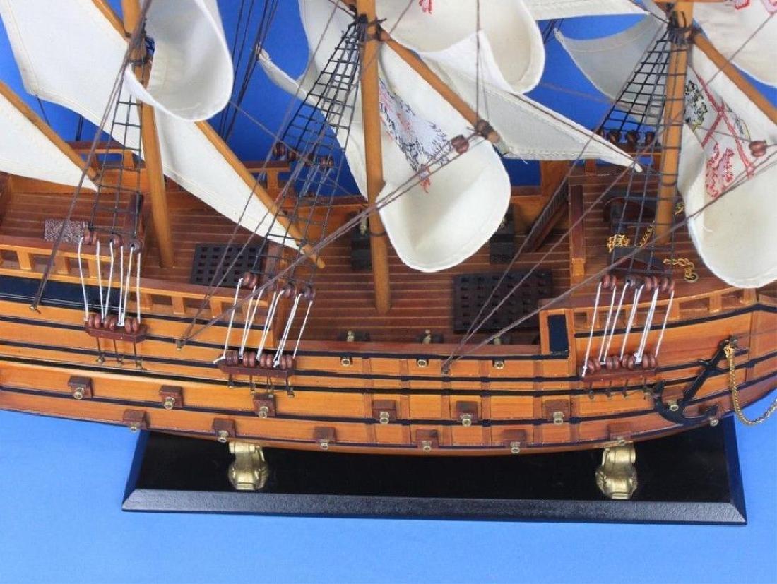 "Wooden Spanish Galleon Model 34"" Ship - 2"